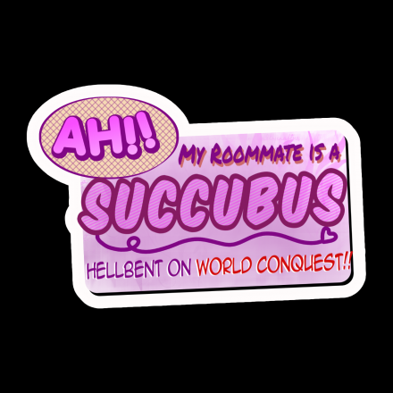 Ah!! My Roommate is a Succubus Hellbent on World Conquest!!